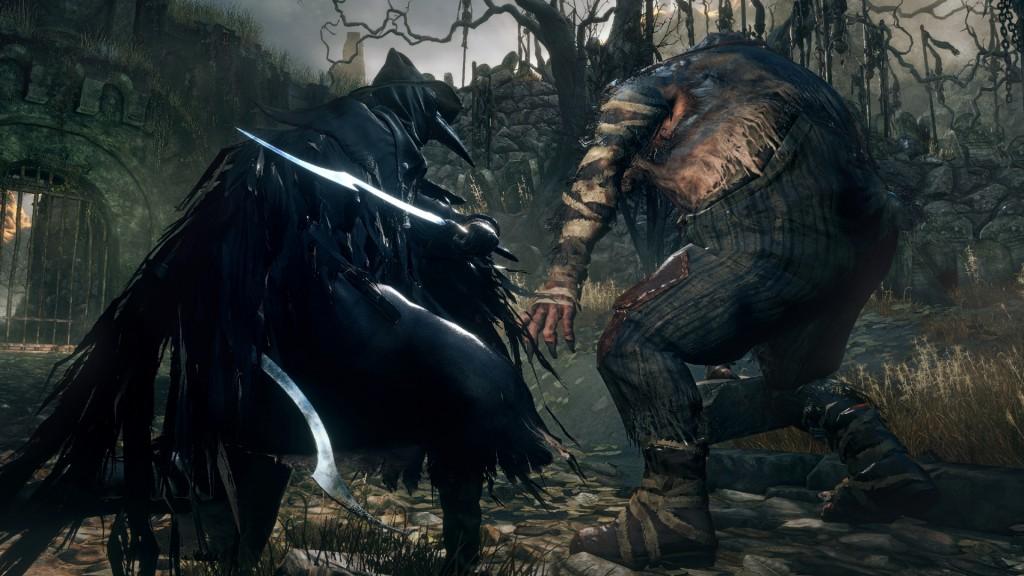 A hunter fights a troll